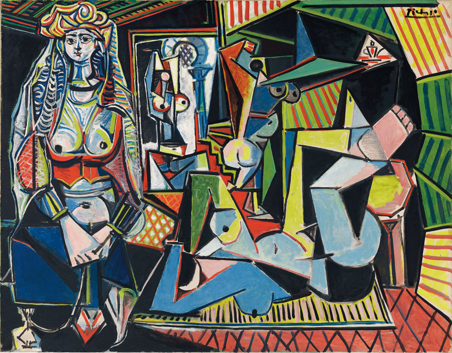 Picasso's Femmes d' Alger auctioning today, bidding starts at $140 million.